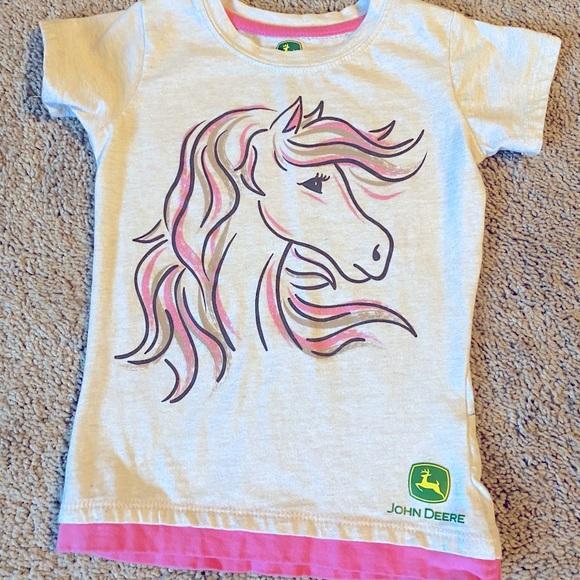 Girls John Deere Shirt - 4T